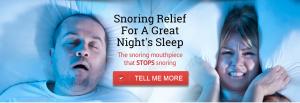 Stop Snoring Tonight!